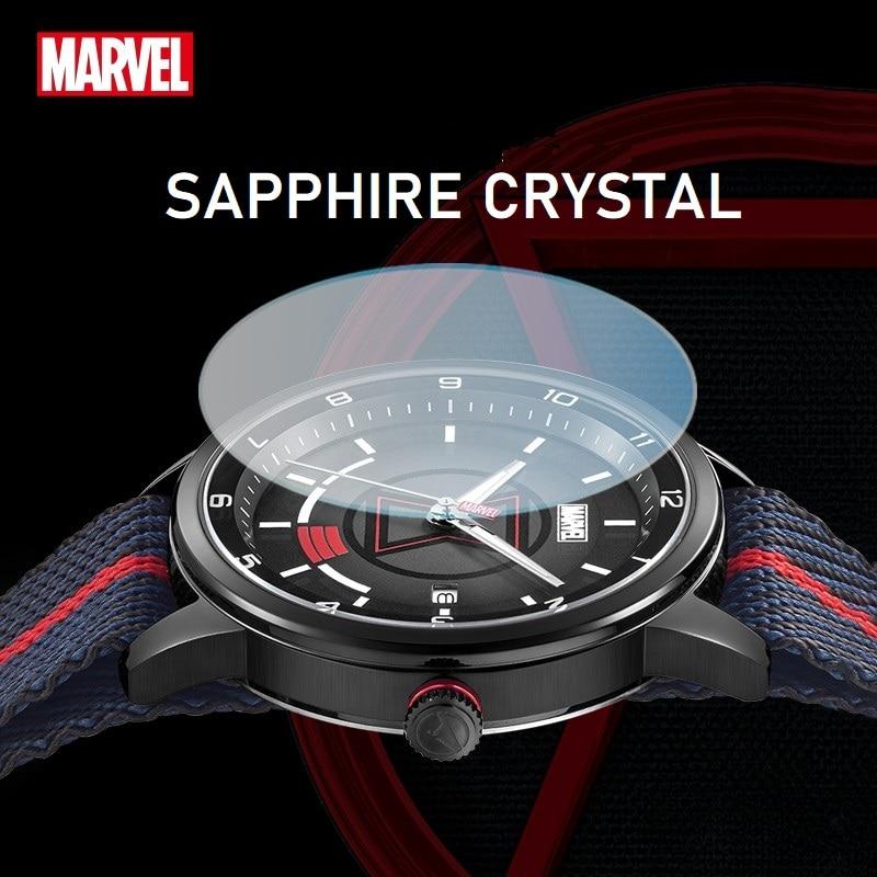 Marvel Official Casual Unisex Quartz Wristwatch Men Women Lady Girl Youth Student The Avengers Children Cartoon Dial Black Widow enlarge