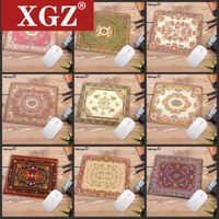 xgz 22x18cm persian carpet big promotion 3d printing mouse pad natural rubber anti skid csgo dota lol animation game cs go