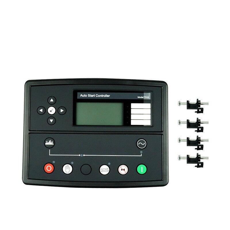 رائجة البيع التلقائي بدء تحكم لوحة تحكّم في مولّدات الطّاقة DSE7310 مولد مجموعة تحكم وحدة تحكم DSE7310