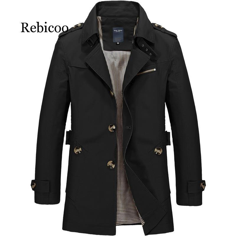 Куртка мужская повседневная, униформа в стиле милитари, ветровка, пальто, Осень-зима