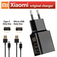 Xiaomi Original Charger 5V 2A Mirco USB Type-C Cable For Xiaomi Redmi 3S 3X Note 3 PRO Redmi 8 8A 6A Mi9 Mi 8 6 5S Mix3 Charger