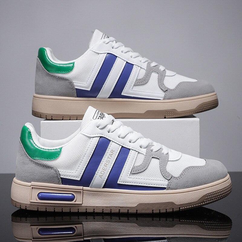 Zapatos deportivos de malla Para Hombre, zapatillas masculinas de estilo informal, transpirables,...