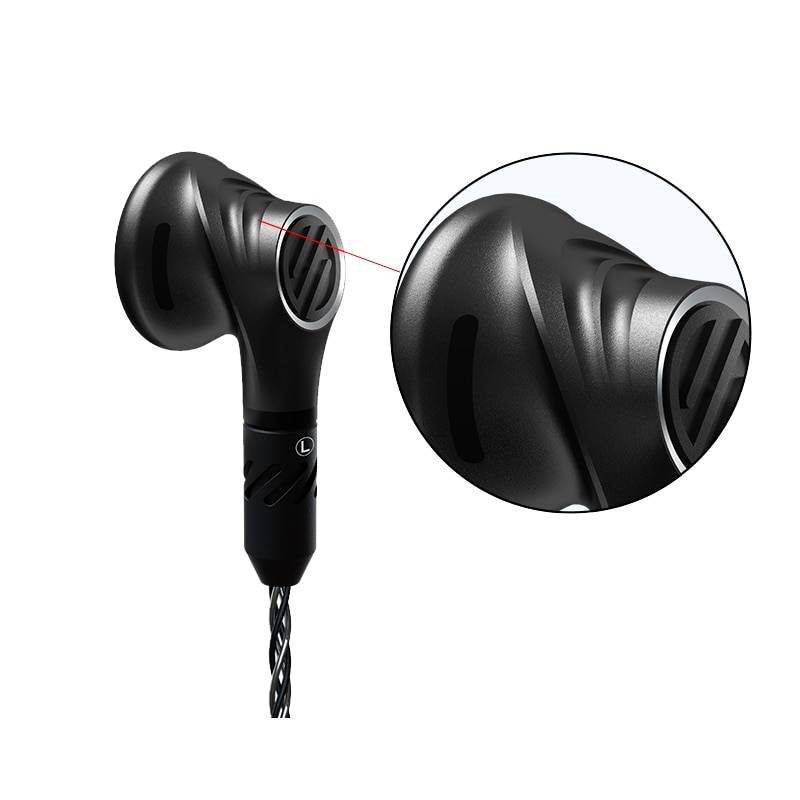 BGVP DX5 In Ear Earphone 2.5mm/3.5mm/4.4mm To Mmcx Balance Metal Wired Earbuds Music Stereo Headset enlarge