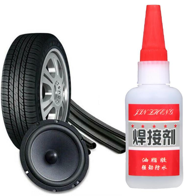 Pegamento para reparación de neumáticos de bicicleta, coche y motocicleta de 20G, solución de parche frío de goma para perforar el tubo interno de la bicicleta