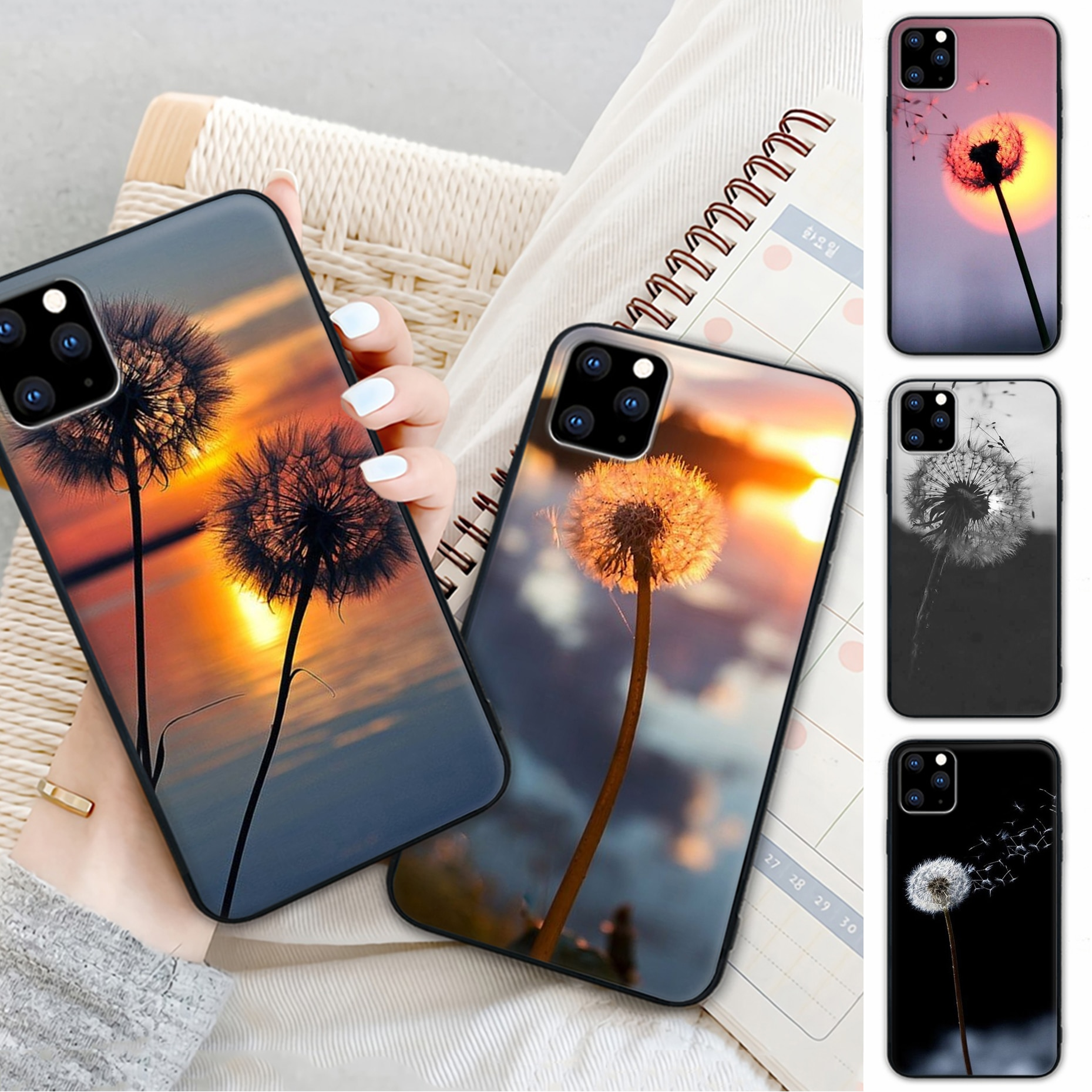 Products Beautiful Scenery Dandelion Mobile Phone Cover Case For Samsung Galaxy M30S A01 A21 A31 A51