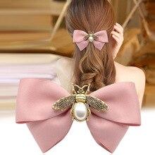 I-remiel moda coreana copricapo Pin Top primavera Clip floreale perni per capelli Clip fascia per capelli per adulti piccola ape accessori per capelli per donne