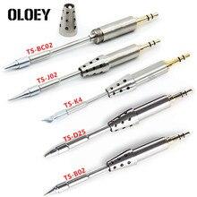 TS-K4 TS-D25 TS-B02 TS-J02 TS-BC2 Original Soldering Head TS80 Replacement Solder Tip TS K4 D25 B02 BC02 J02 Solder Tools Set