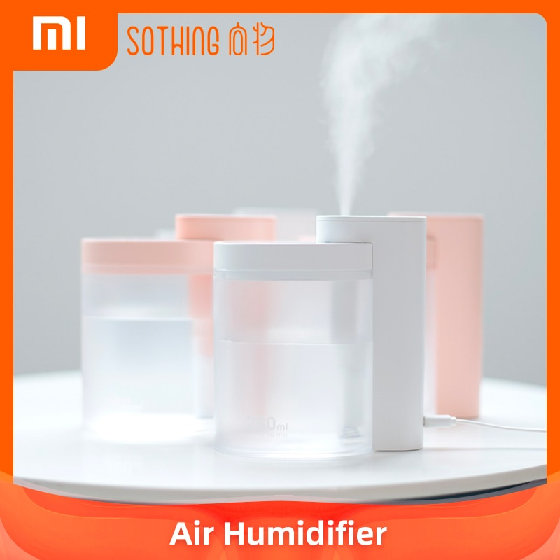 Xiaomi Youpin-humidificador de aire, humidificador de aire ultrasónico para hogar, silencioso, carga USB, 260ML