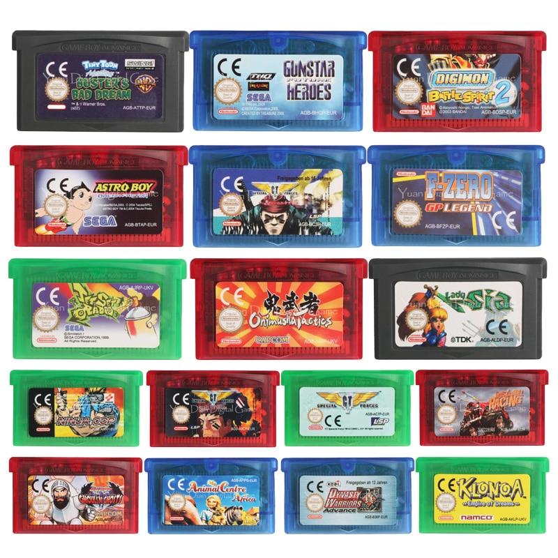 32 Bit Video Game Cartridge Console Card Ninja Cop EU Version For Nintendo GBA