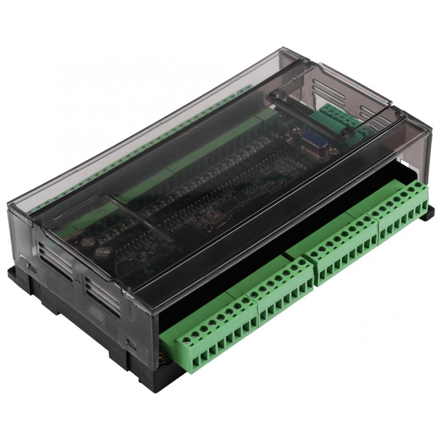 PLC Programmable Logic Controller FX3U-48MR Industrial Control Board Transistor Output DC24V