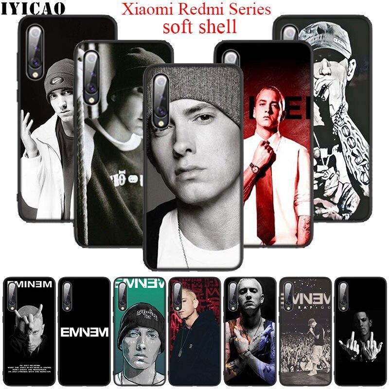 Rapper Eminem Soft Silicone Case for Redmi Note 4X 8T 5 6 7 8 Pro 5A Prime