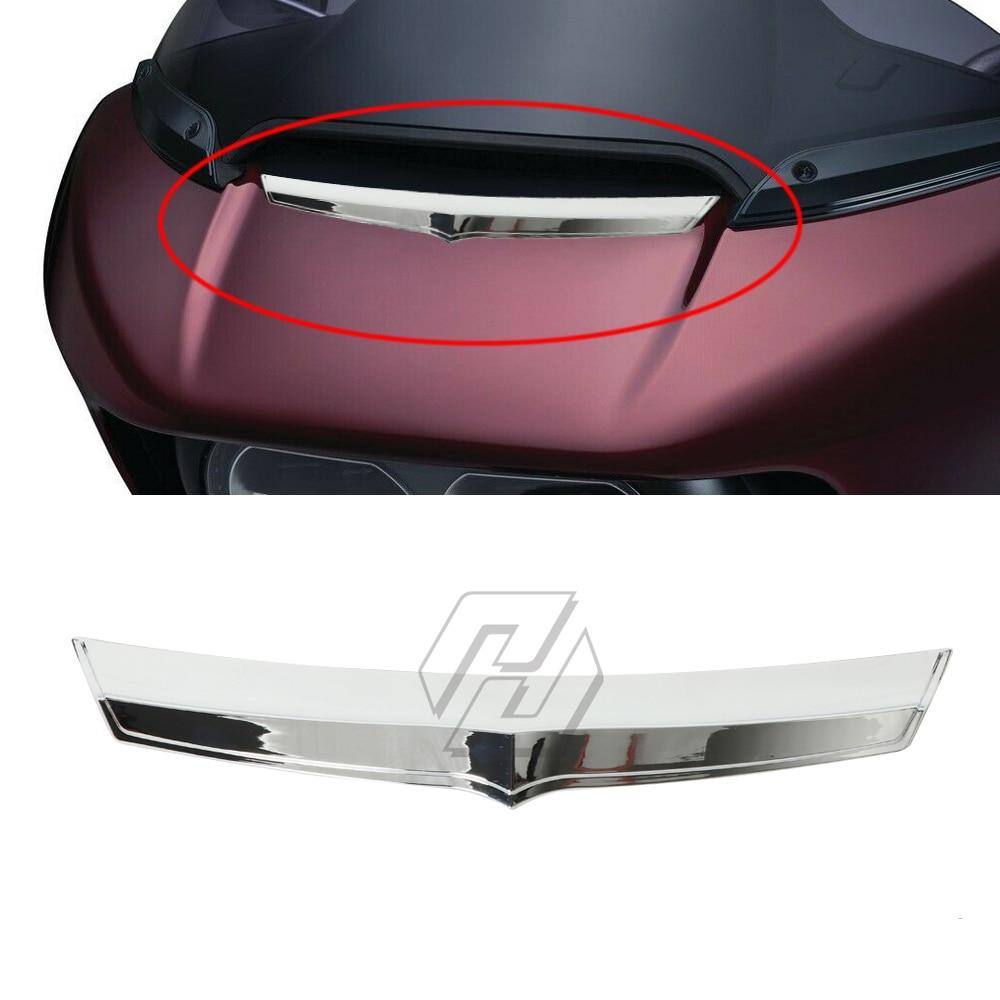 Accesorio para motocicleta, carcasa de ventilación de carenado frontal Accent Tirm para Harley Road Glide 2015 - 2019