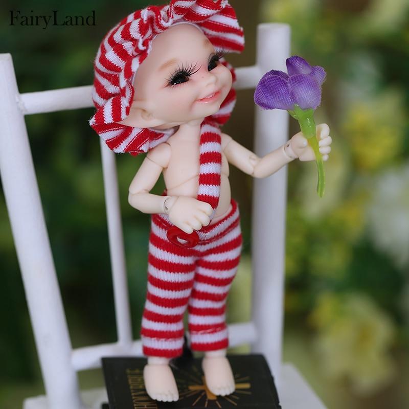 Кукла Realpuki soso BJD, с длинными ушами и смайликом, 1/13, оригинальная игрушка высокого качества для девочек, лучший подарок, FL Fairyland, бесплатная дос...