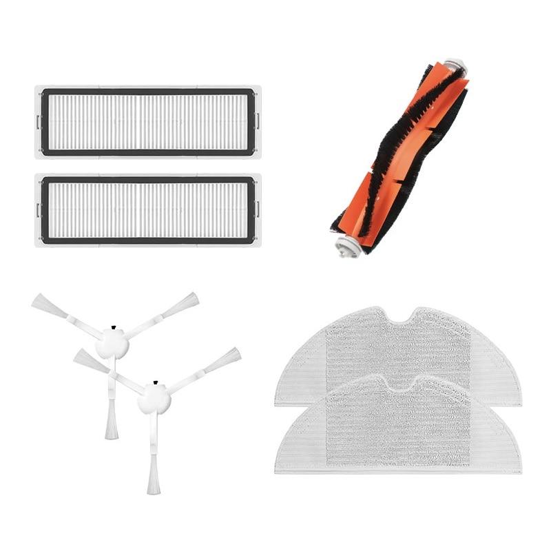 HOT!-for Xiaomi 1C Robotic Vacuum Cleaner Accessories Main Side Brush Hepa Filter Cloth for Mijia STYTJ01ZHM Robot Vacuum Mop