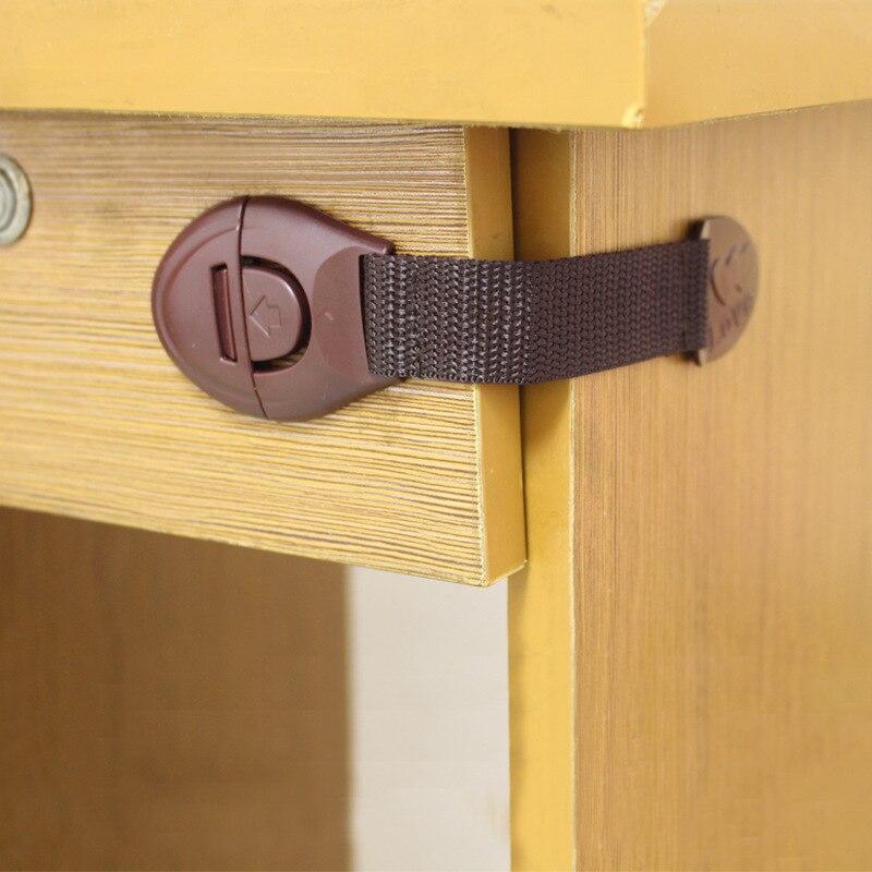 Serrures de sécurité bébé 5 pièces   Serrures de porte darmoire, tiroirs de réfrigérateur, serrures de sécurité pour les enfants