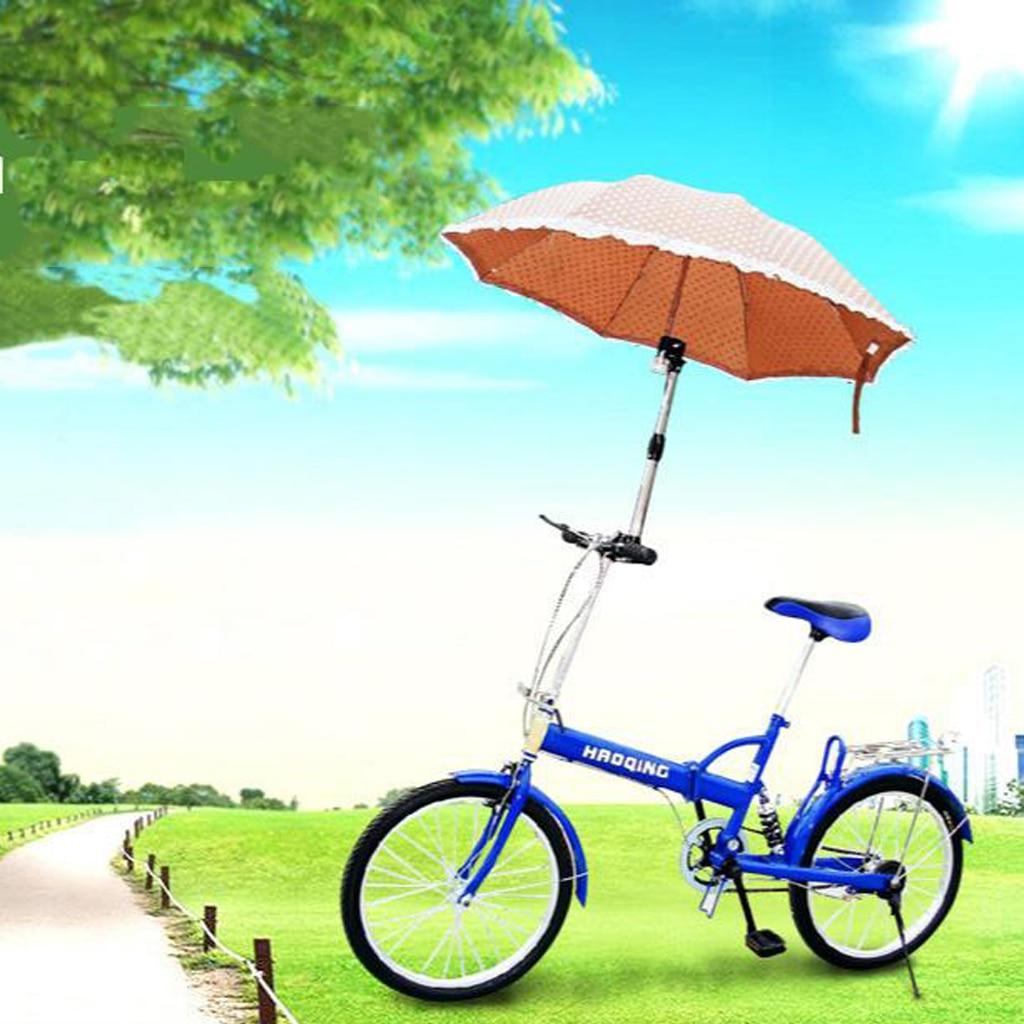 Adjustable Bike Umbrella Holder Mount Telescopic Golf Buggy Cart Baby Pram Stroke Chair Umbrellas Su