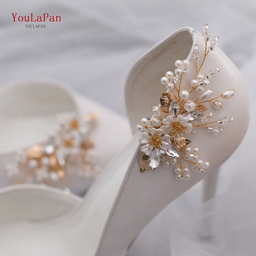 YouLaPan 2pcs 2020 New Shoe Clip Rhinestone Charms Women Wedding High Heels Fashion Buckle Accessories Clothes Decoration X21