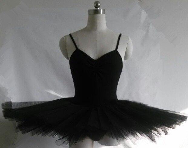 Vestido de bailarina negro/rojo/blanco disfraz de Ballet profesional para adultos Ropa de Ballet para mujeres Ropa de Ballet para niñas