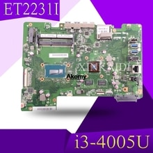 XinKaidi Für ASUS alle-in-one ET2231I ET2231 ET223 Mianboard motherboard SR1EK i3-4005U N15V-GM-S-A2 video karte