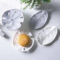 Vaisselle de salle de bains Portable  boitier de vidange en plastique en forme de feuille etoile de mer savon boite plateau fournitures de salle de bains