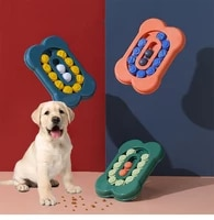 pet supplies dog toy bone track foraging plate dog eating interactive anti choking slow food dog bowlpp material dog toy bowl