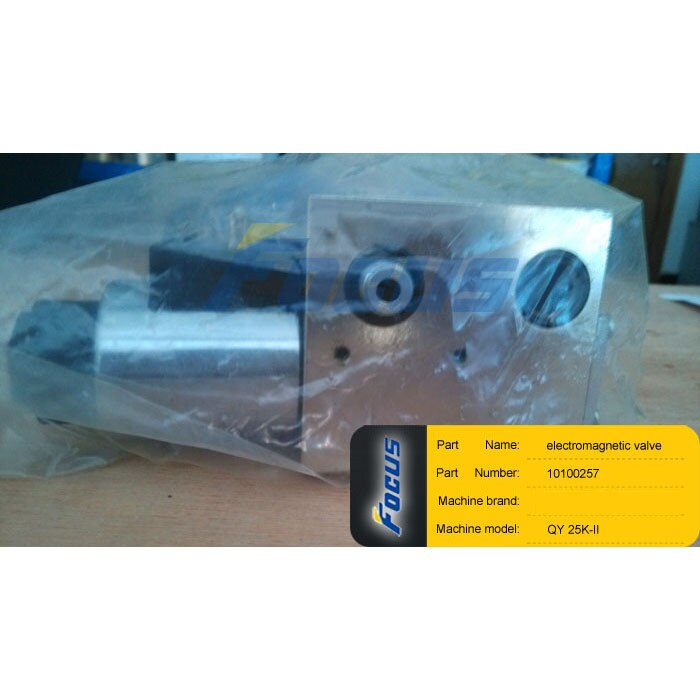Truck Spare Parts QY25K QY25K-I QY25K-II Electromagnetic Valve 10100257  - buy with discount