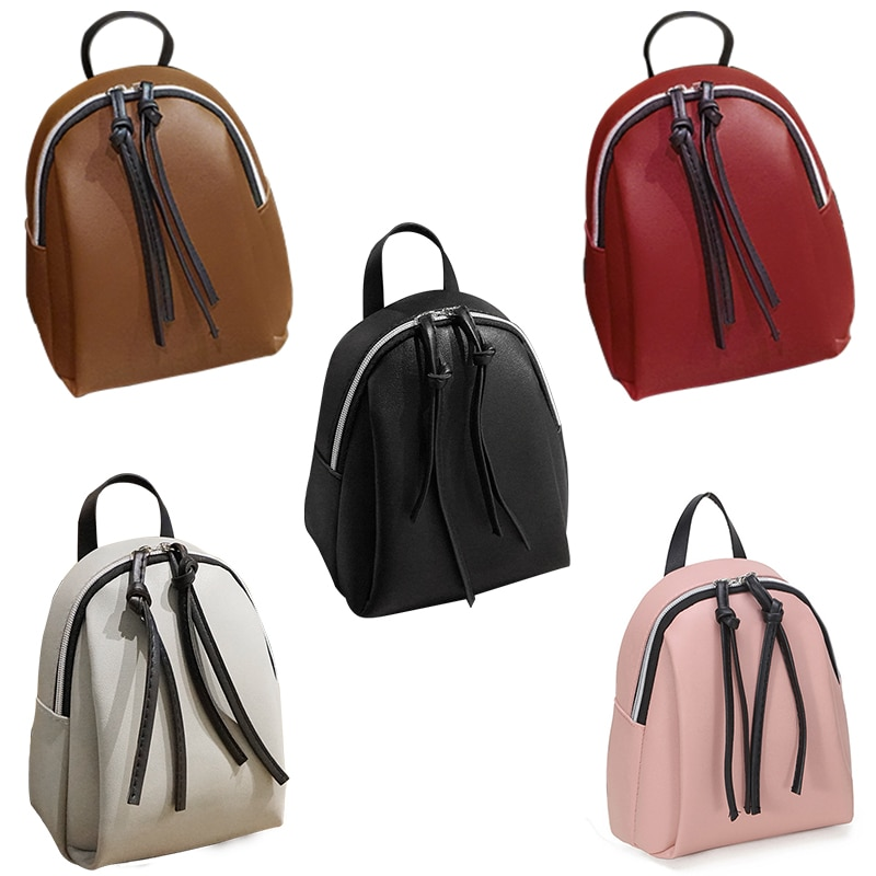 Женский маленький рюкзак, кожаная сумка на плечо, многофункциональные мини-рюкзаки, Женский Школьный рюкзак, сумка для девочек-подростков, новинка 2020