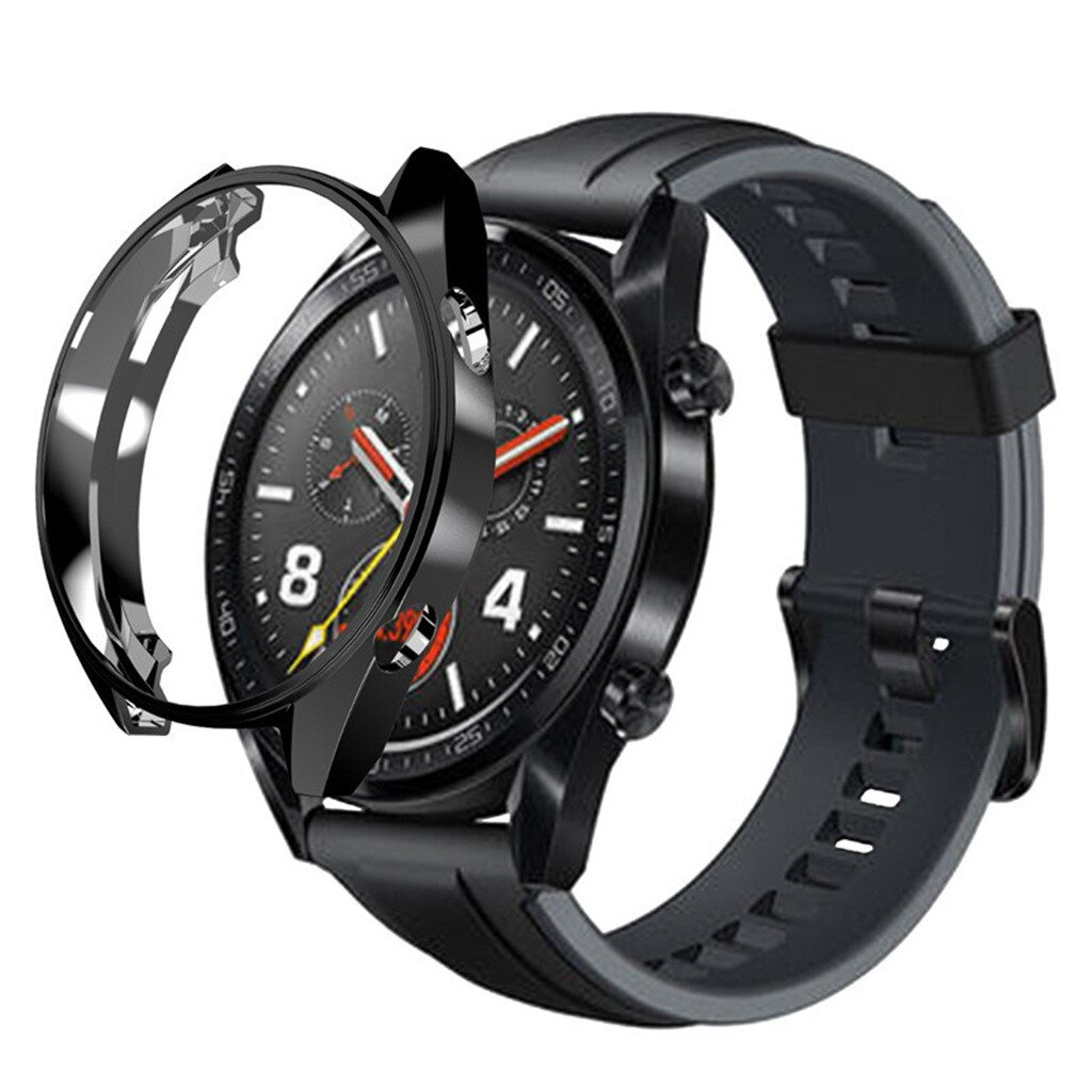 top selling product 2020 Electroplate Soft TPU Case Cover for Huawei Watch GT 46mm with Screen Prote