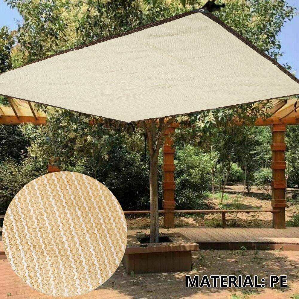 مقاوم للماء الشمس المأوى ظلة حماية الظل الشراع المظلة التخييم قماش للتظليل كبيرة للخارجية المظلة حديقة الباحة 40% OFF