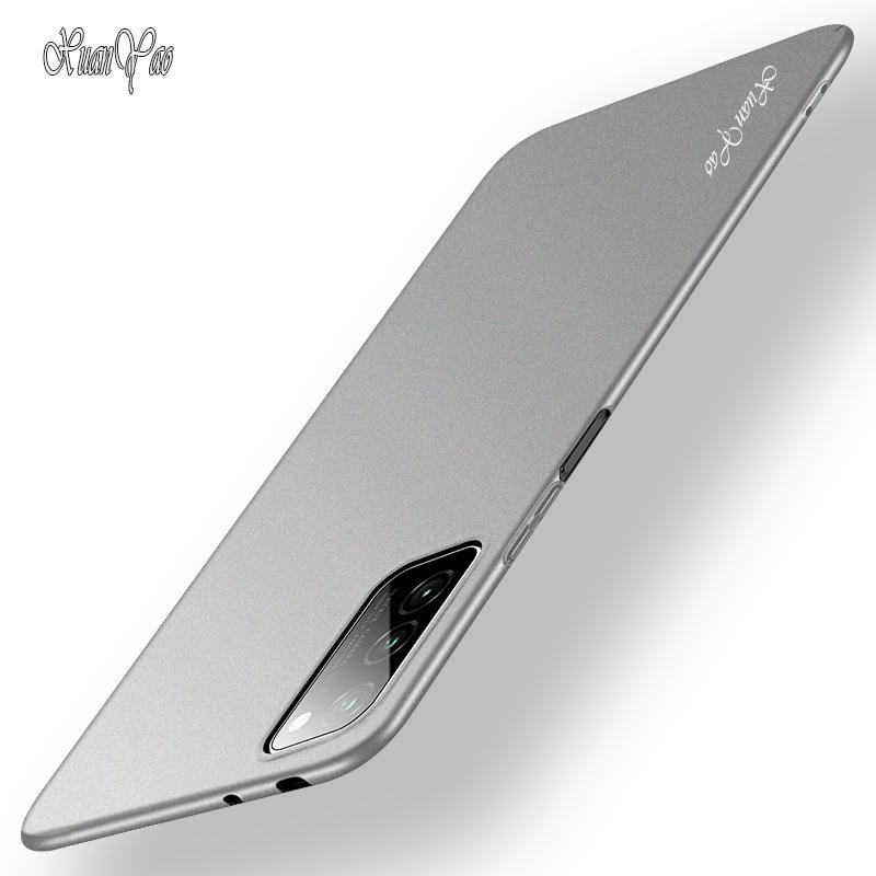 Fundas de teléfono XUANYAO Honor 8 Pro V9 V10 V20 V30 funda delgada mate Coque para Huawei View 30 Pro 20 10 9 funda trasera dura esmerilada