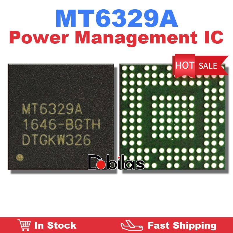 1Pcs/Lot MT6329A Power IC BGA Power Management Supply IC PM IC Mobile Phone Integrated Circuits Repl