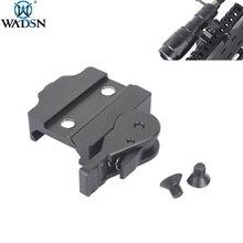 WADSN arme lampe de poche ADM fixation rapide pour Surefir M300 M600 lumière M300V M600V lampe de poche 20mm support de Rail