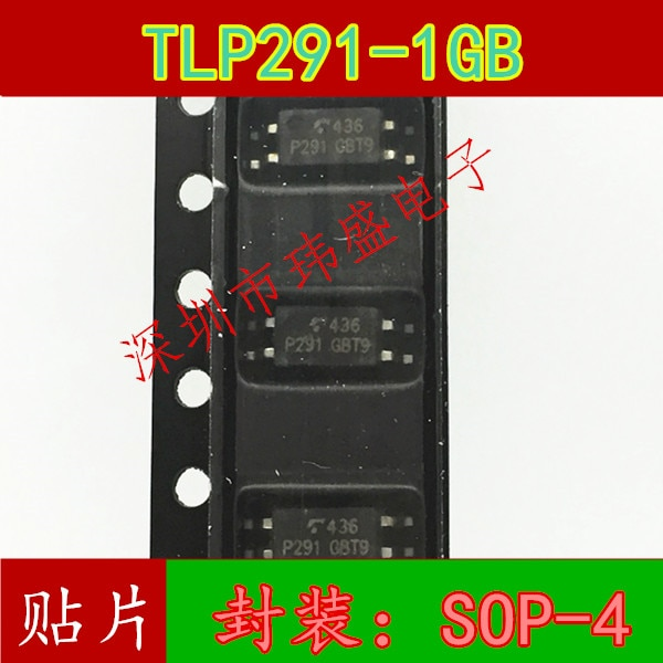 10pcs TLP291GB TLP291-1 P291 SOP-4 tlp291-1gb