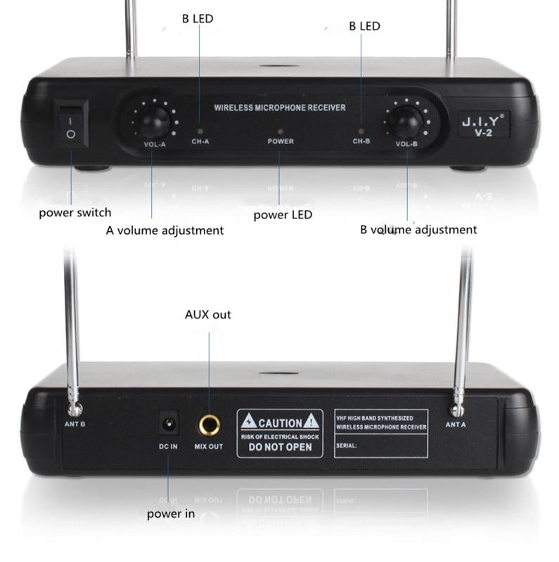 Wireless Karaoke Microphone MIC mikrofon Karaoke player KTV Karaoke Echo System Digital Sound Audio Mixer Singing Machine enlarge