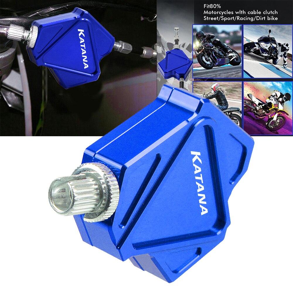 For SUZUKI KATANA GSX600F GSX750F GSX 600 F GSX 750 F Motorcycle Accessories CNC Aluminum Easy Pull Stunt Clutch Lever System