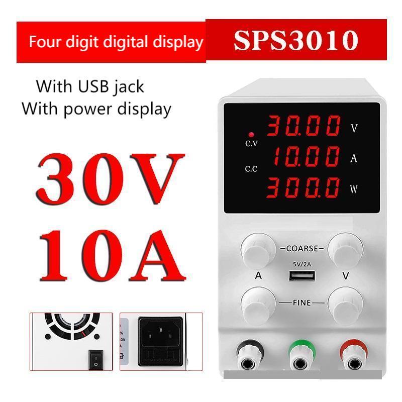 sps s305 pode armazenar dc fonte de alimentacao regulada 60v 5a 30v10a tensao ajustavel