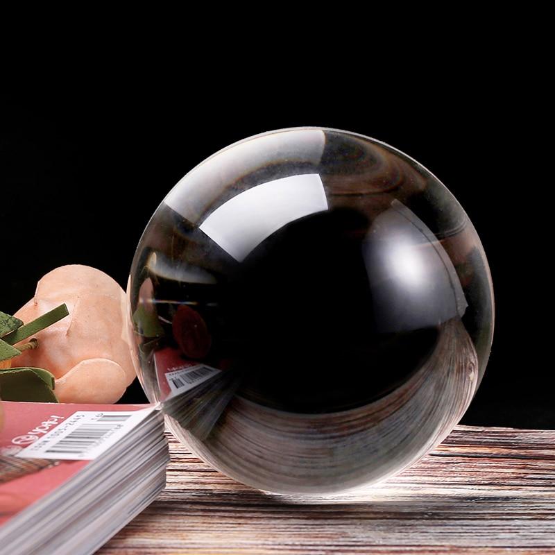 Bola de cristal para fotografía, ornamento FengShui de 60/100MM, bola mágica de...