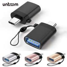 Тип C до USB 3,0 адаптер Type-C адаптер OTG кабель для MacBook Pro Samsung Oneplus Xiaomi Huawei мобильный телефон флэш-накопитель читателя