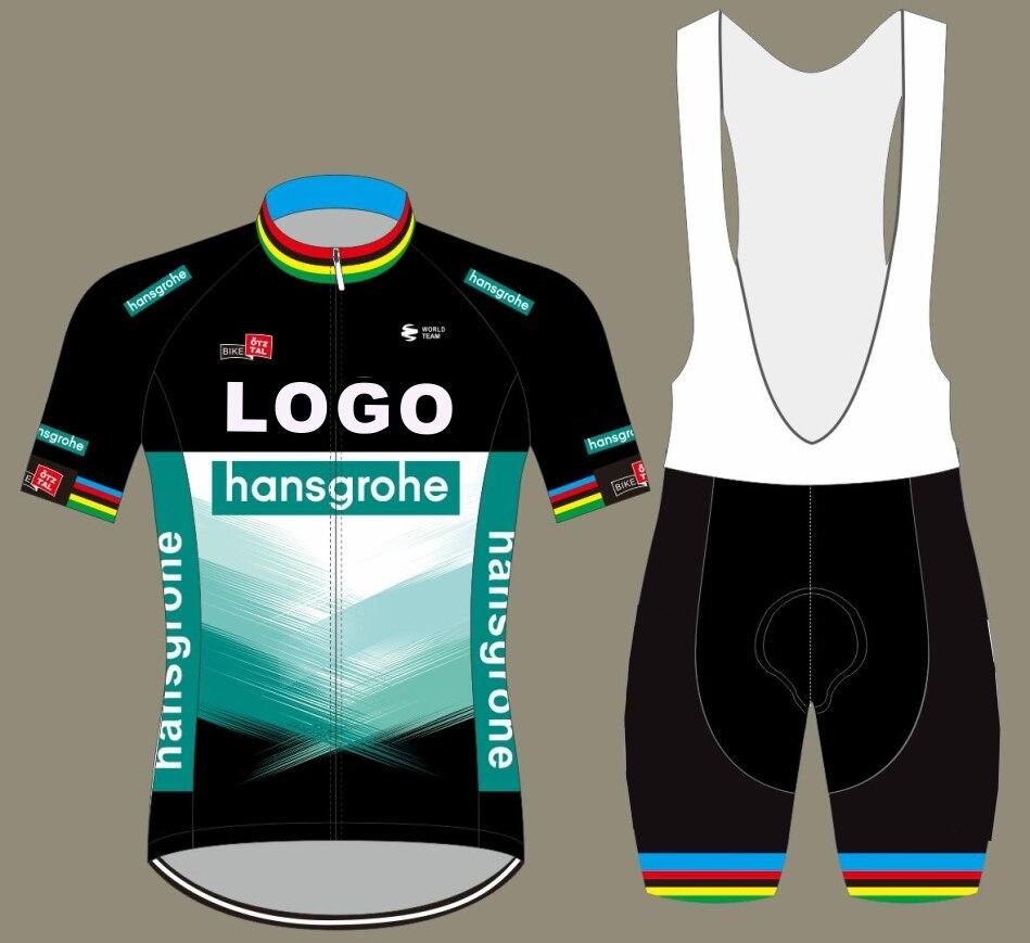 2020 BORACING pro equipo hansgrohe peto y camiseta de ciclismo corto ciclismo...