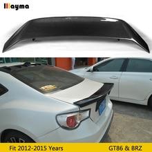 Becquet de coffre arrière en fiber de carbone   AB, pour Toyota GT86 pour Subaru BRZ pour Scion 86 2012-2015