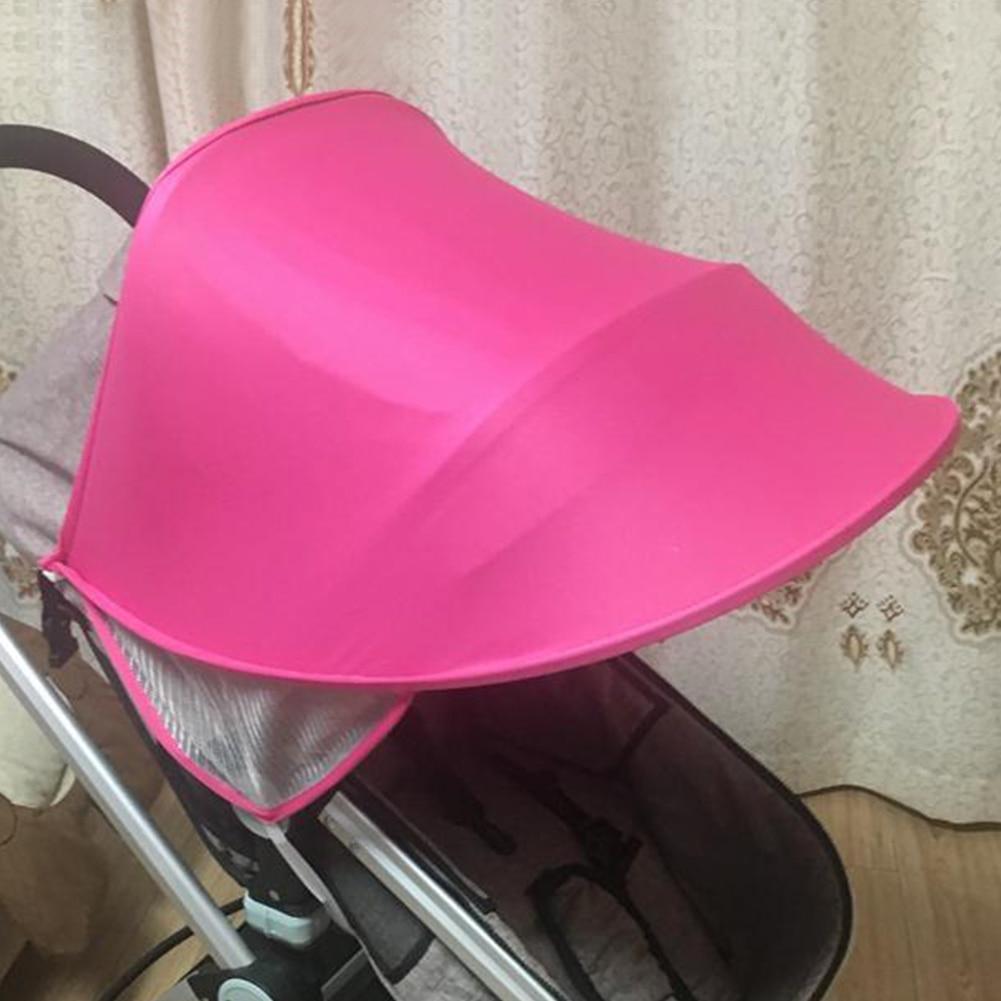 Солнцезащитный козырек с козырьком от солнца, защита от УФ-лучей, атмосферостойкий зонтик, Солнцезащитная детская коляска