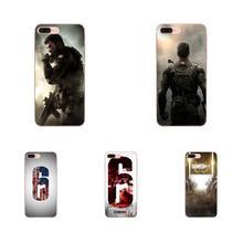 Cute Phone Cases For Galaxy J1 J2 J3 J330 J4 J5 J6 J7 J730 J8 2015 2016 2017 2018 mini Pro Tom Clancy S Rainbow 6 Patriots