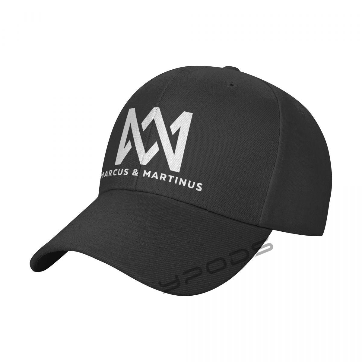 Однотонные бейсболки Маркуса мартинуса, многоцветные мужские и женские кепки с козырьком, регулируемые повседневные спортивные кепки