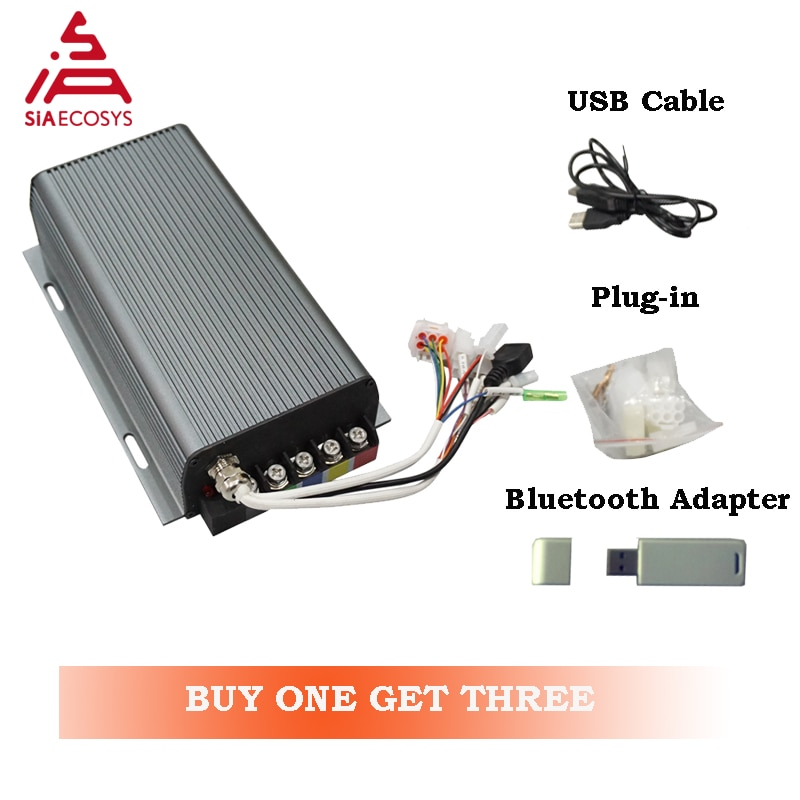 Activity Sabvoton SVMC72200 72v 200A brushless Motor Controller with  bluetooth adapter function for electric scooter
