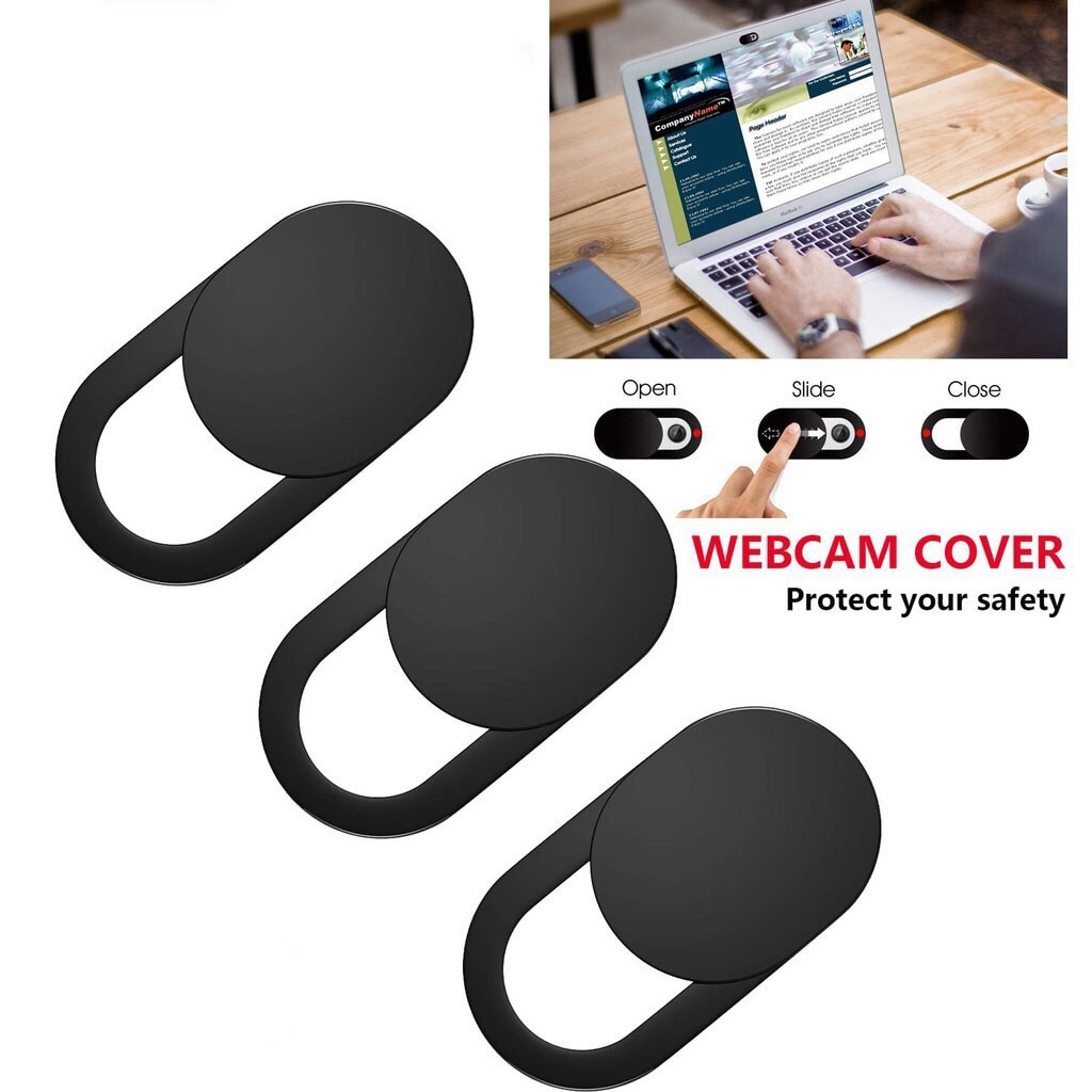 Webcam Cover Antispy Camera Cap Slide Ultra Thin Laptop Protect Your Lenses Privacy Sticker for iPad