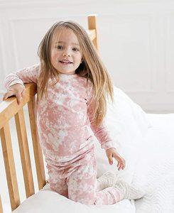 Pudcoco/Детская рубашка для девочек костюм со штанами для бега осенне-весенние брюки с круглым вырезом и длинными рукавами, с принтом в виде гал...