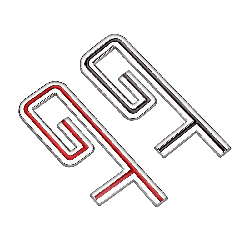 3D Metal GT Car Badge Stickers Decal For Seat Leon 2 FR 5F Mk3 2 1 Ibiza Cupra Ateca Belt Racing Car side Emblem Styling