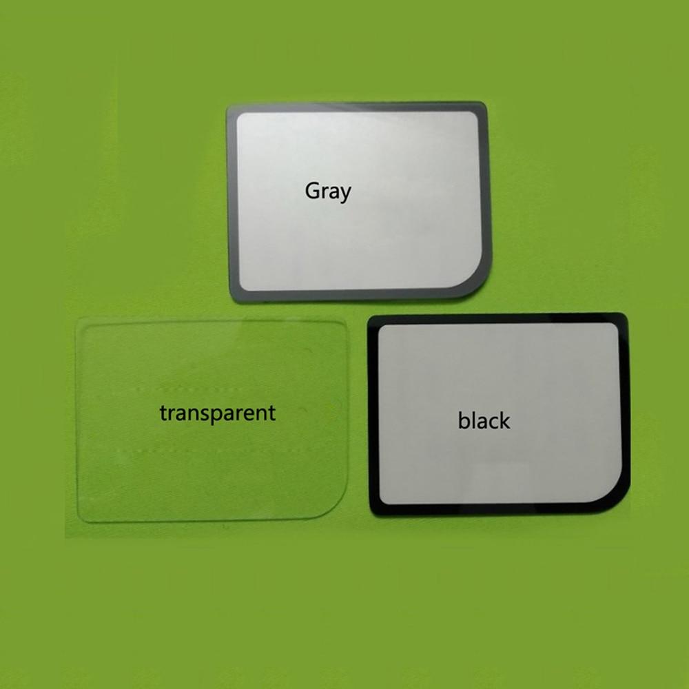 Para GameBoy Zero para Raspberry Pi espejo pantalla estrecha Protector cubierta lente de vidrio para pantalla para GB
