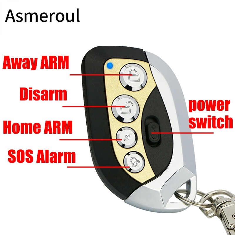 WiFi GSM Alarm System Anti Theft Alarm Smart Home Burglar Alarma Personal Touch Screen Motion Detector Smoke Door Sensor enlarge