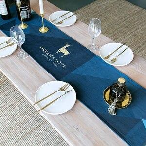 table runner european-style neoclassical chemin de table satin velvet bronzing satin table runner wedding table